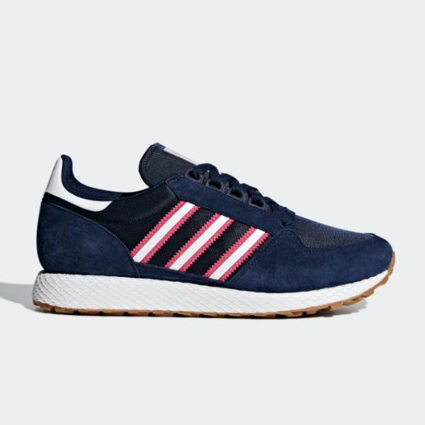 adidas adidas Originals Forest Grove 'Night Indigo / Real Pink' SOLEHEAVEN