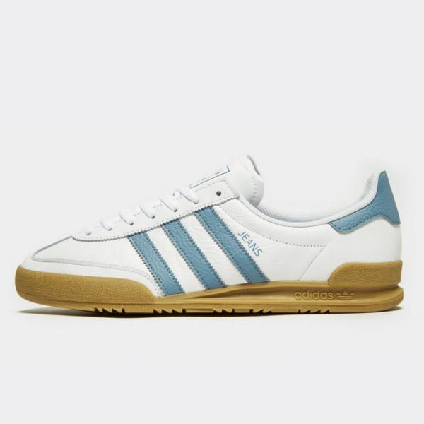 074ee8003cf adidas adidas Originals Jeans  White   Sky Blue  at Soleheaven ...