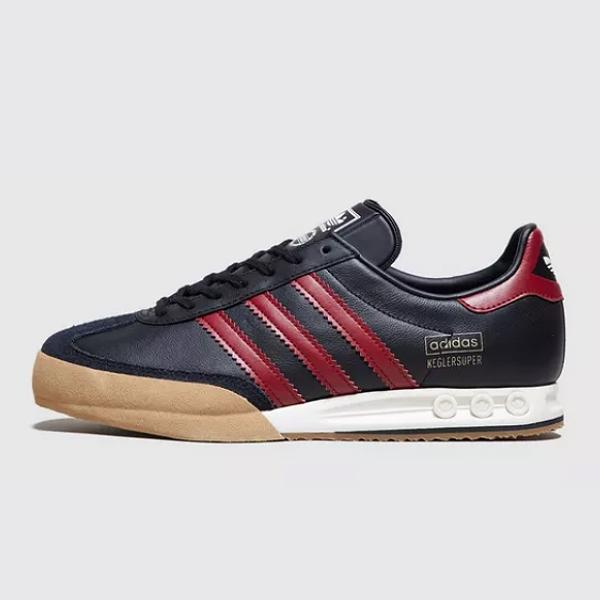 adidas adidas Originals Kegler Super OG 'Black / Burgundy' Size? Exclusive SOLEHEAVEN