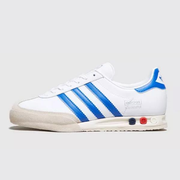adidas adidas Originals Kegler Super OG 'White / Blue' Size? Exclusive SOLEHEAVEN