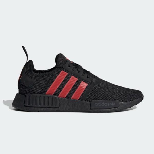 f77120ca7 adidas adidas Originals NMD R1  Black   Red  SOLEHEAVEN