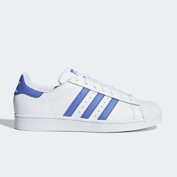 adidas adidas Originals Superstar 'White / Blue' SOLEHEAVEN