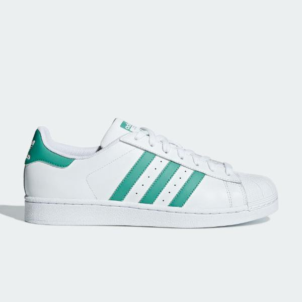 adidas adidas Originals Superstar 'White / Green' SOLEHEAVEN