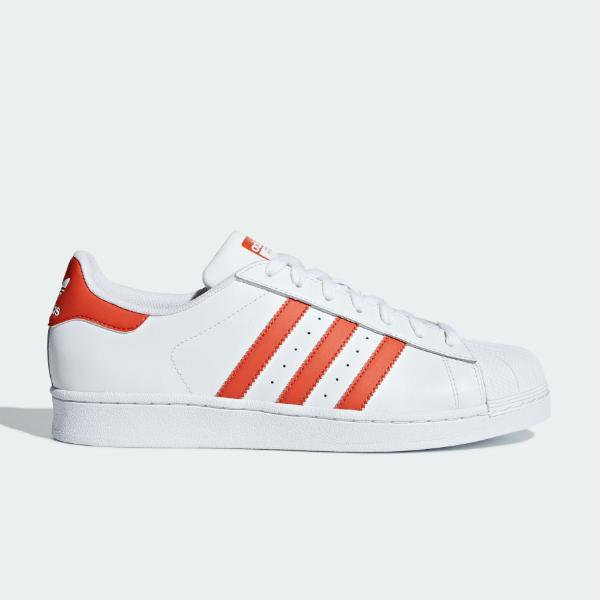 adidas adidas Originals Superstar 'White / Red' SOLEHEAVEN