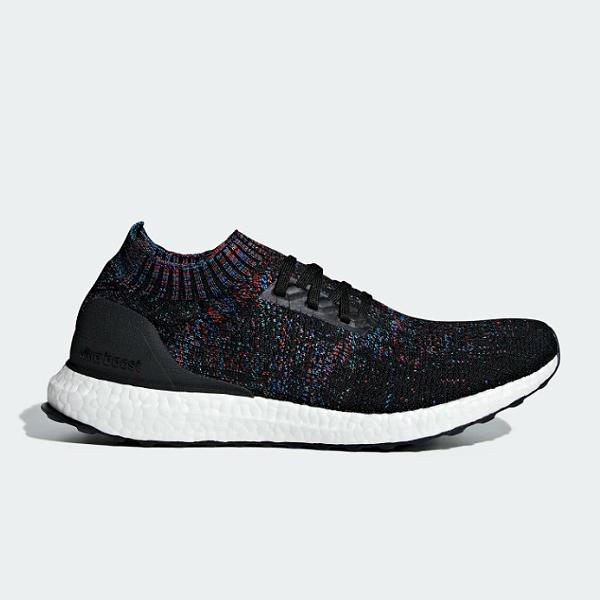 adidas adidas Originals UltraBoost Uncaged 'Black / Red / Blue' SOLEHEAVEN