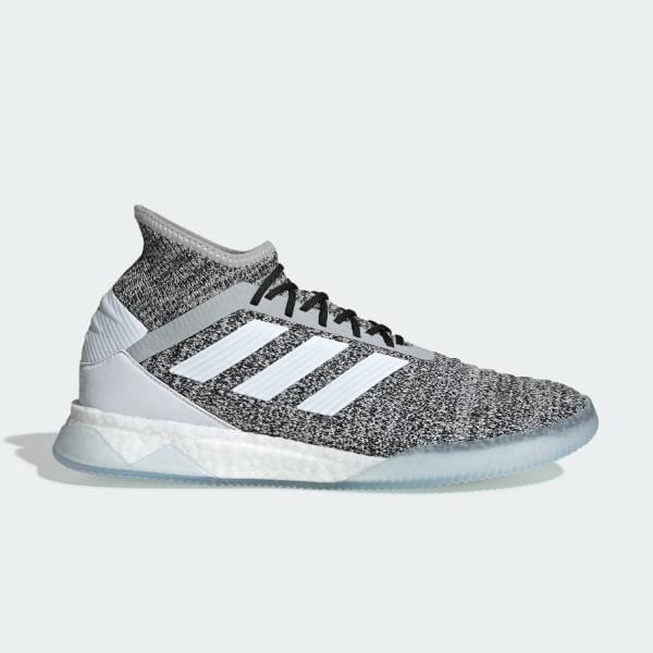 adidas adidas Predator 19.1 Trainers 'Heather Grey' SOLEHEAVEN