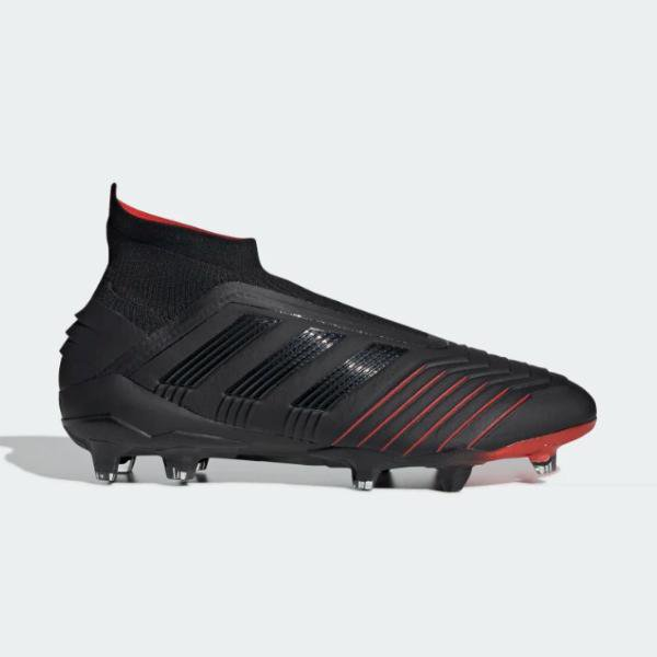 adidas adidas Predator 19+ Firm Ground 'Black' SOLEHEAVEN