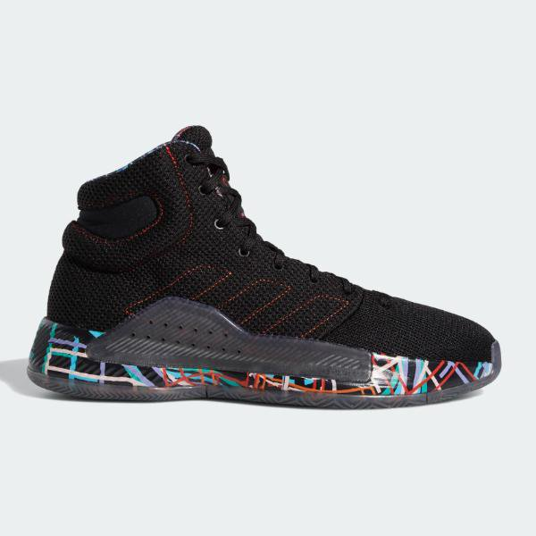14ed88865406 adidas adidas Pro Bounce Madness 2019  Black   Red   Orange  SOLEHEAVEN