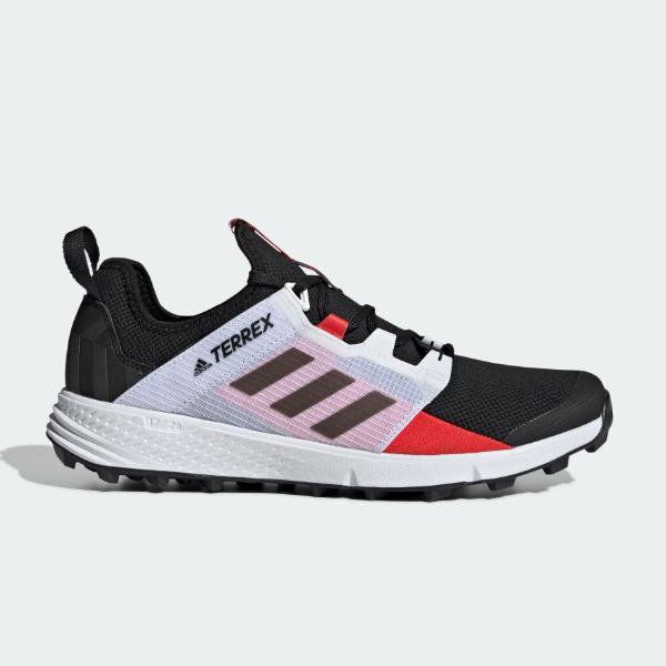 adidas adidas Terrex Agravic Speed LD 'Grey / Red' SOLEHEAVEN