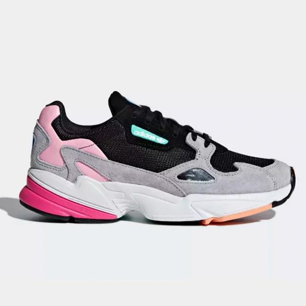 adidas Adidas Falcon 'Core Black Light Granite' SOLEHEAVEN