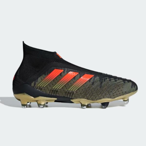 adidas adidas x Paul Pogba Predator 18+ Firm Ground 'Olive Cargo / Base Green' SOLEHEAVEN