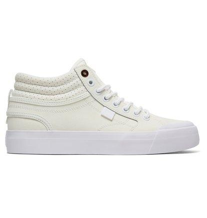 DC Shoes Evan HI SE - High-Top Shoes for Women - White - DC Shoes SOLEHEAVEN
