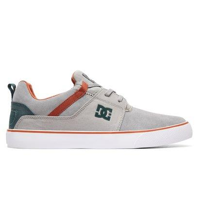 DC Shoes Heathrow Vulc - Shoes for Men - Grey - DC Shoes SOLEHEAVEN