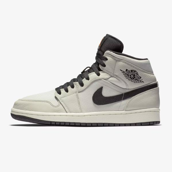 Air Jordan 1 Mid Premium 'Light Bone'