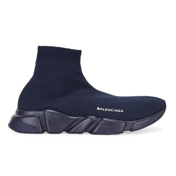 Balenciaga Balenciaga Speed Stretch Knit 'Navy' SOLEHEAVEN