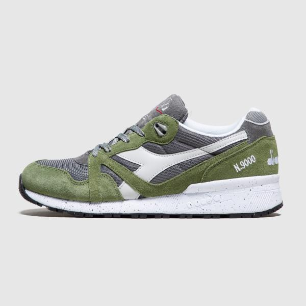 Diadora N9000 Speckled 'Green'