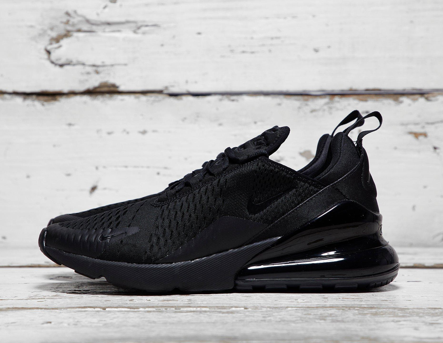 Nike Mens Nike Air Max 270 Black, Black at Soleheaven Curated Collections