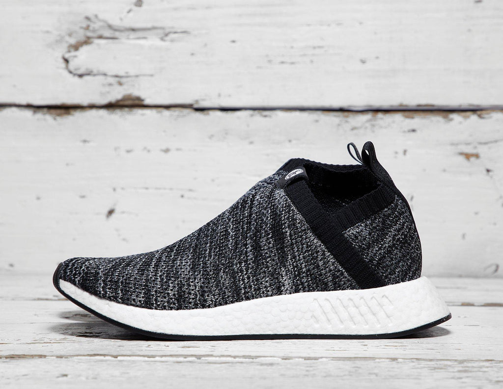 Adidas Mens adidas x UNITED ARROWS & SONS NMD CS2 - Black/White, Black/White SOLEHEAVEN