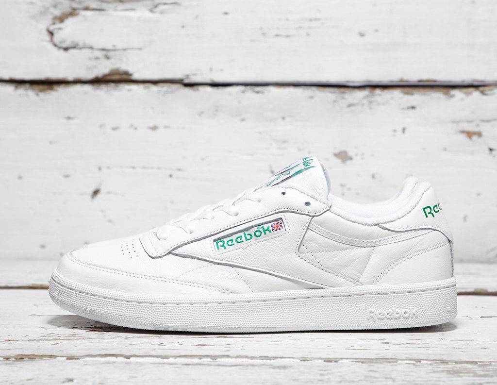 Buy Reebok Mens Reebok Club C Archive - White/Green, White/Green Footpatrol online now at Soleheaven Curated Collections