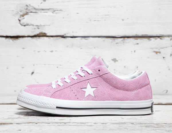 59ec643be71 Converse Mens Converse One Star 74 - Pink White