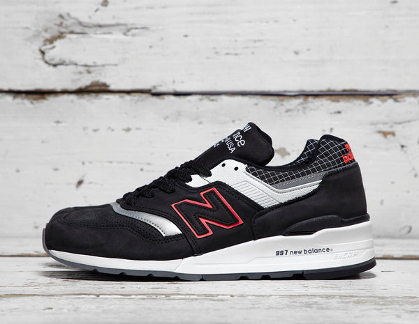 Buy New Balance Mens New Balance 997 'Made in USA' - Black, Black Footpatrol online now at Soleheaven Curated Collections