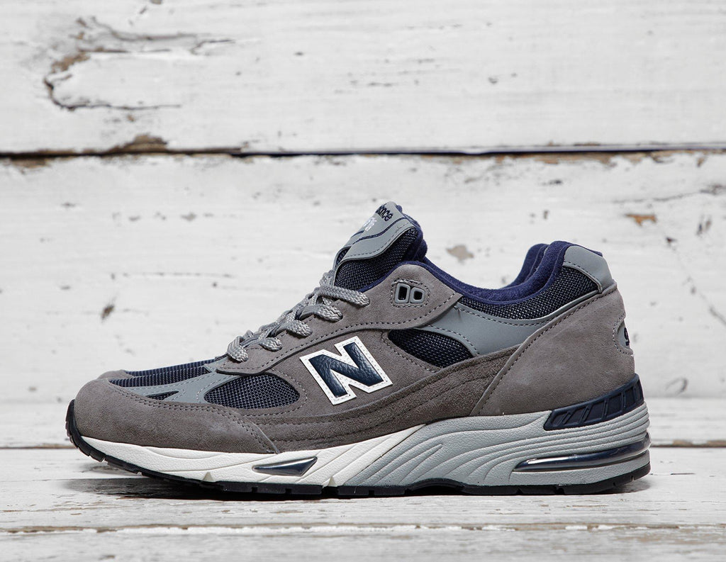 Buy New Balance Mens New Balance 991 - GREY/NVY/GREY/NVY, GREY/NVY/GREY/NVY Footpatrol online now at Soleheaven Curated Collections
