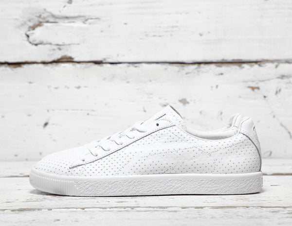 Buy Puma Mens PUMA x Trapstar Clyde Perforated - White, White Footpatrol online now at Soleheaven Curated Collections