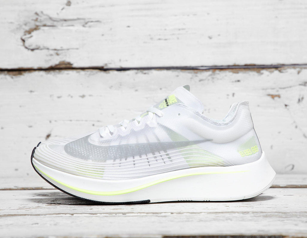 Buy Nike Mens Nike Zoom Fly SP - White/Yellow, White/Yellow Footpatrol online now at Soleheaven Curated Collections