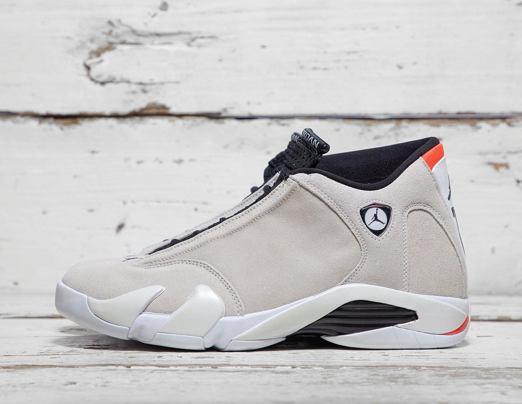 Buy Jordan Mens Jordan 14 - Grey/White, Grey/White Footpatrol online now at Soleheaven Curated Collections