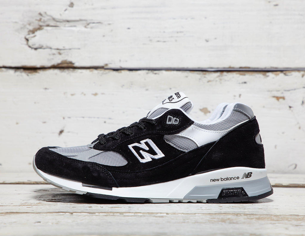 New Balance Mens New Balance M9915BB '991/1500' - Made in England - Black/Grey, Black/Grey SOLEHEAVEN