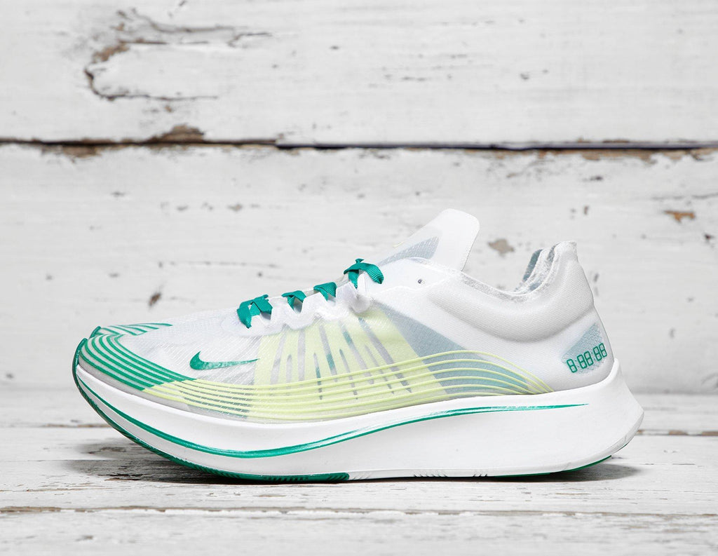 Buy Nike Mens Nike Zoom Fly SP - White/Green, White/Green Footpatrol online now at Soleheaven Curated Collections