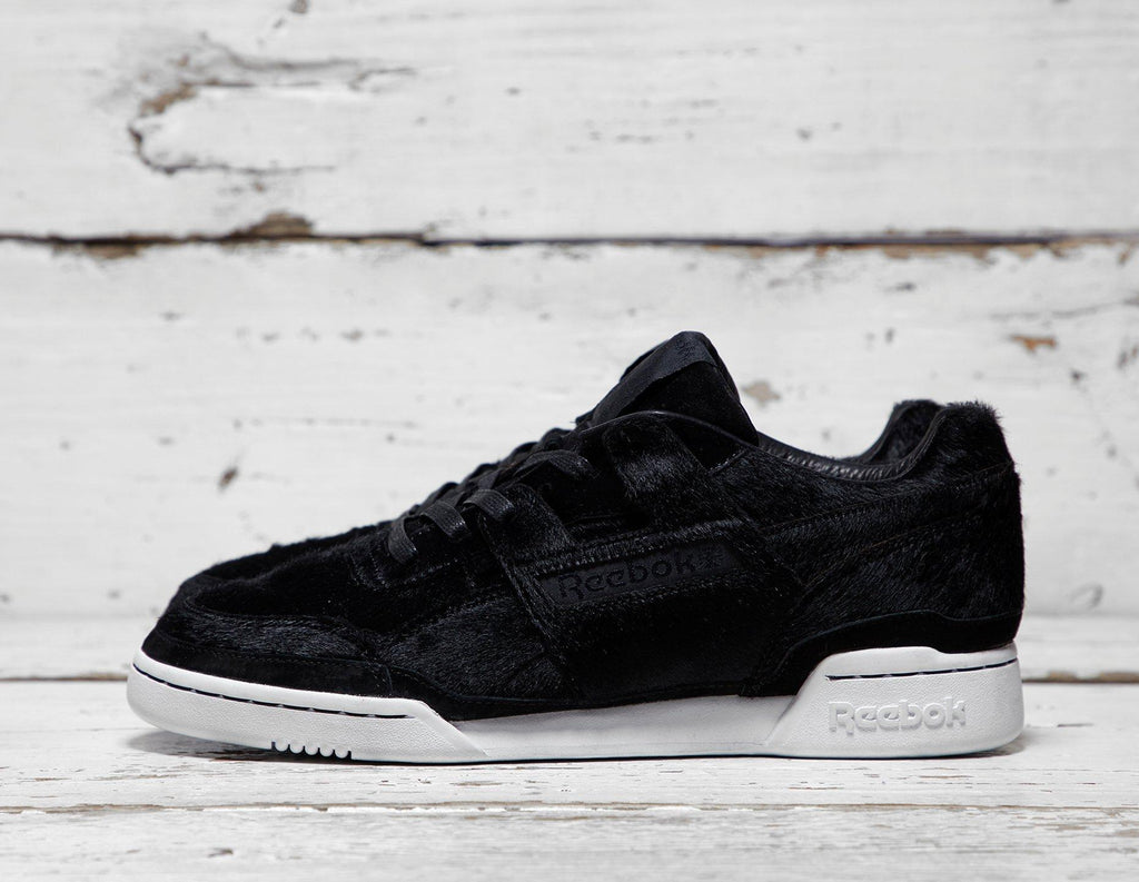 Reebok Mens Reebok x Head Porter Workout Lo Plus - Black/White, Black/White SOLEHEAVEN