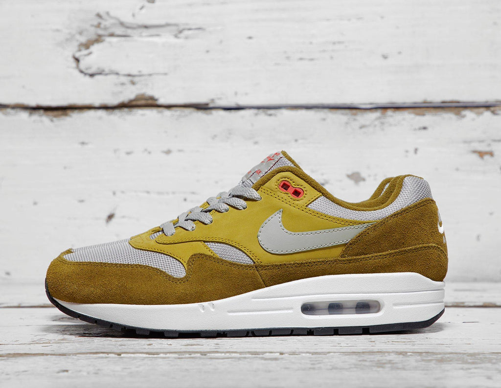 Buy Nike Mens Nike Air Max 1 Premium QS - Green, Green Footpatrol online now at Soleheaven Curated Collections