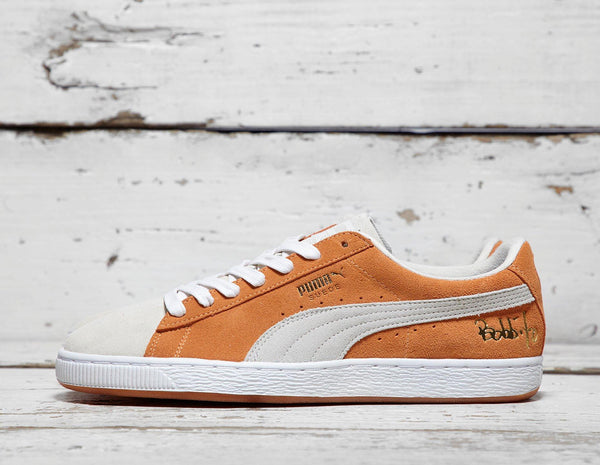 Buy Puma Mens PUMA x Bobbito Garcia Suede '50' - Orange/White, Orange/White Footpatrol online now at Soleheaven Curated Collections