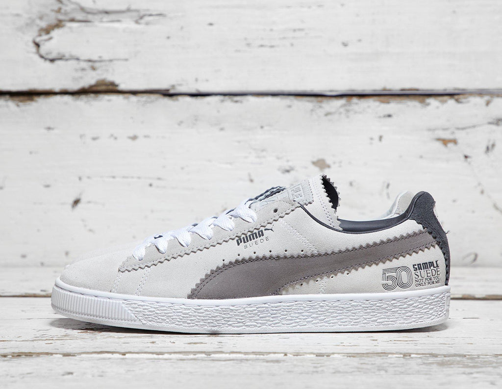 Puma Mens PUMA x Michael Lau Suede Classic - Grey/Brown, Grey/Brown SOLEHEAVEN