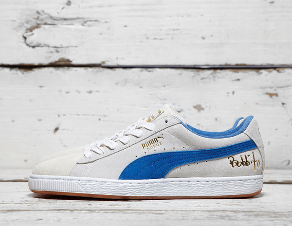 Buy Puma Mens PUMA x Bobbito Garcia Suede '50' - White/Blue, White/Blue Footpatrol online now at Soleheaven Curated Collections
