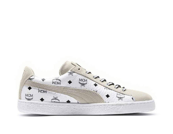 Buy Puma Mens PUMA x MCM Classic Suede - Grey/White, Grey/White Footpatrol online now at Soleheaven Curated Collections