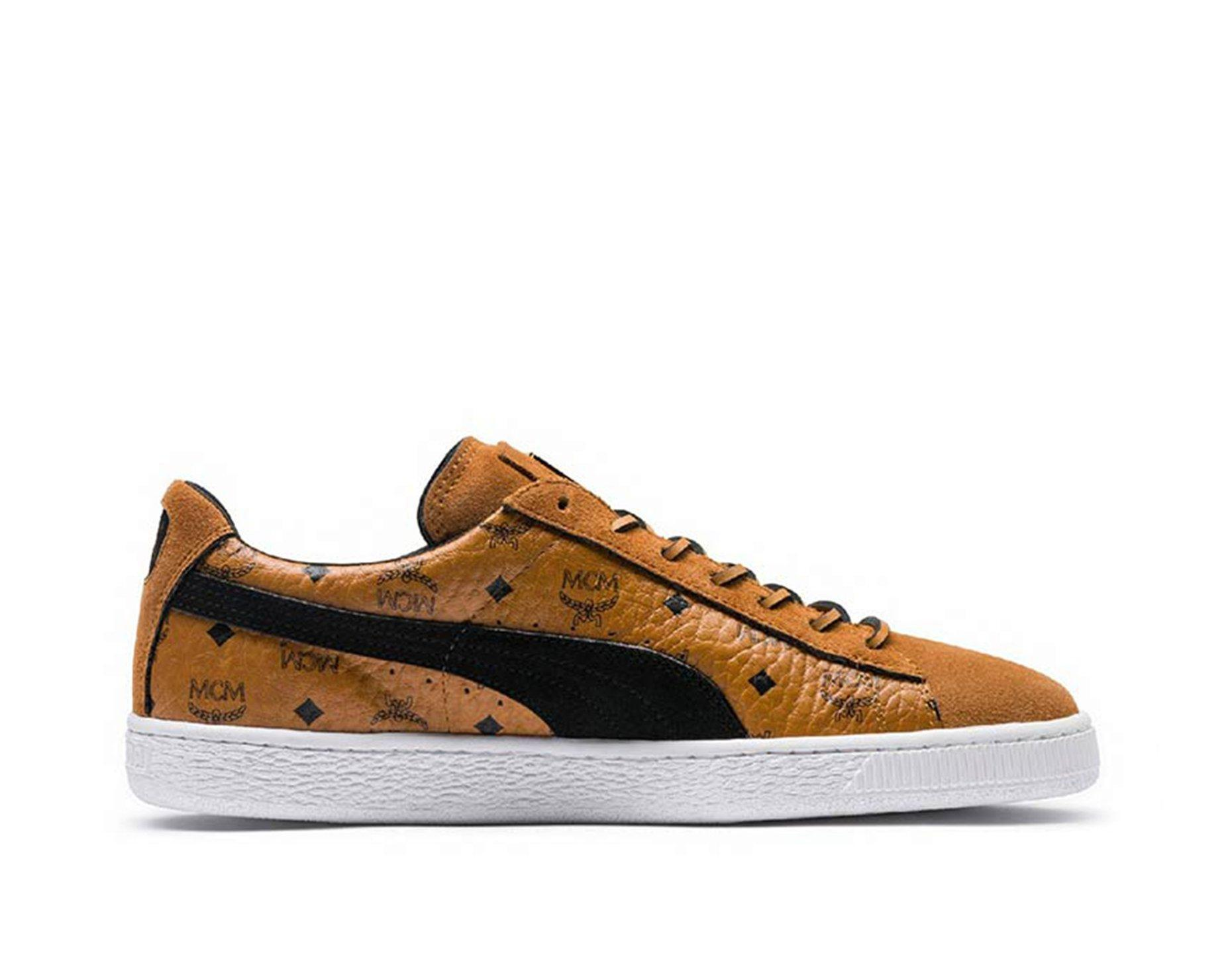 more photos 850f3 fdc47 Puma Mens PUMA x MCM Classic Suede - Tan/Black, Tan/Black at Soleheaven  Curated Collections