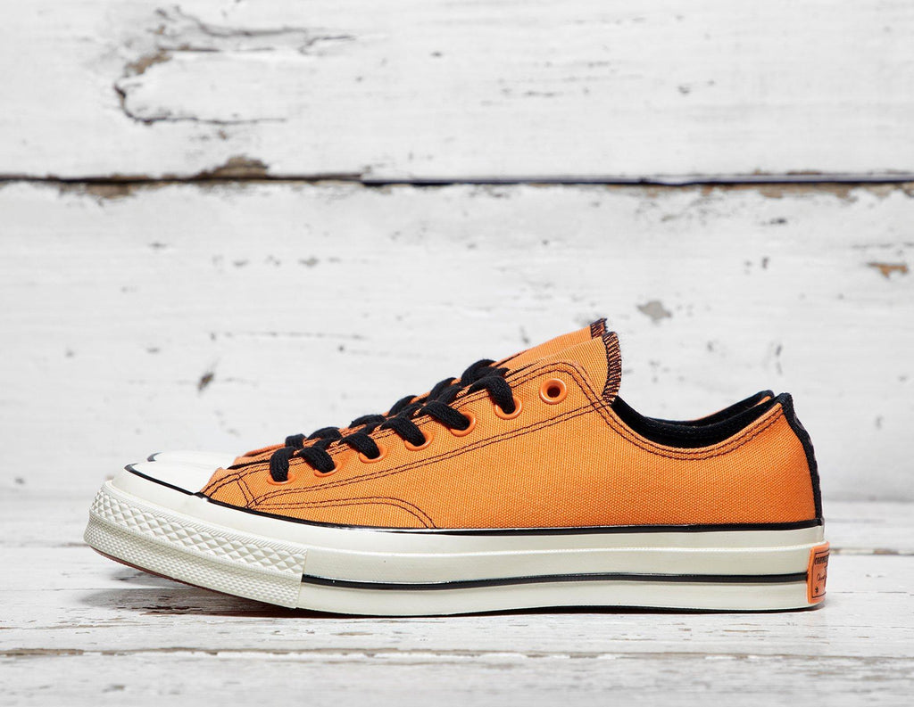 Buy Converse Mens Converse x Vince Staples Chuck Taylor All Star 70 Ox - Black/Orange, Black/Orange Footpatrol online now at Soleheaven Curated Collections