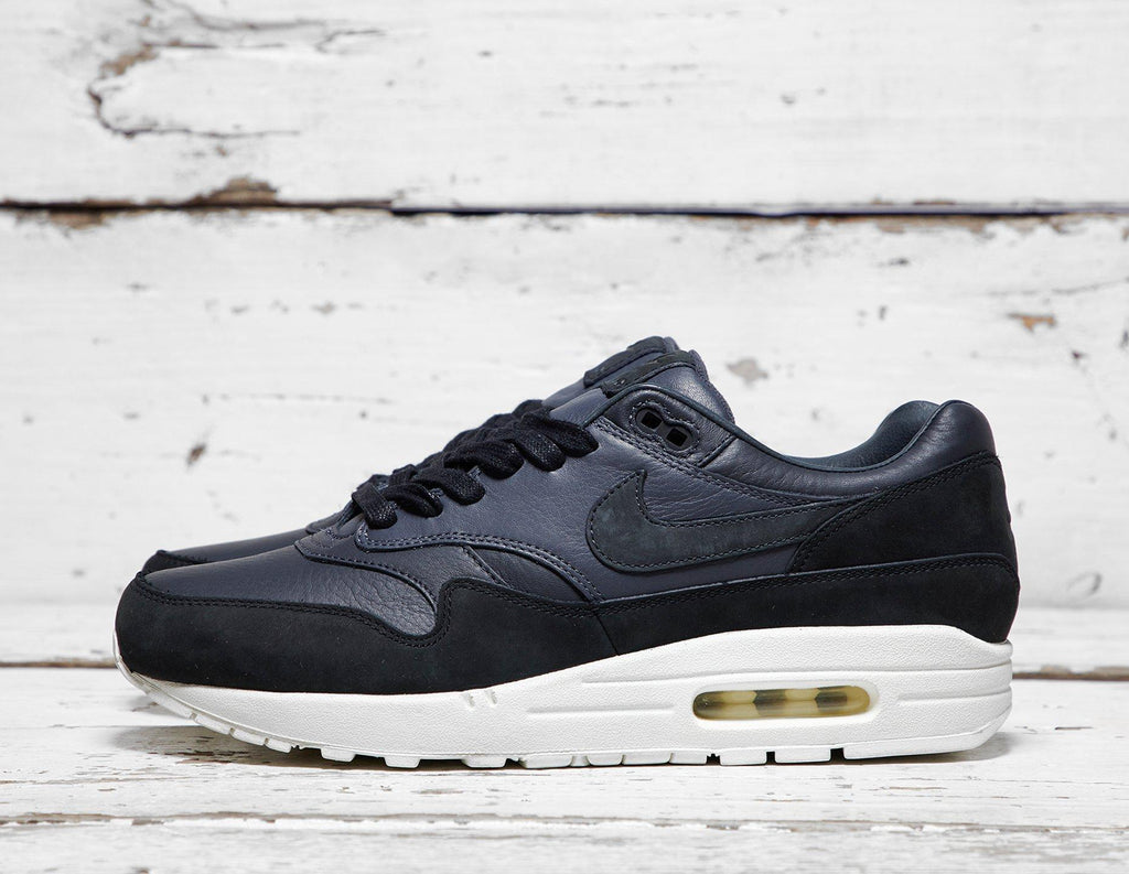 Nike Mens Nike Air Max 1 Pinnacle - Black/Grey, Black/Grey SOLEHEAVEN