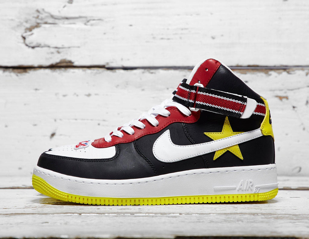 Buy Nike Mens Nike x Riccardo Tisci Air Force 1 - Red/Yellow, Red/Yellow Footpatrol online now at Soleheaven Curated Collections