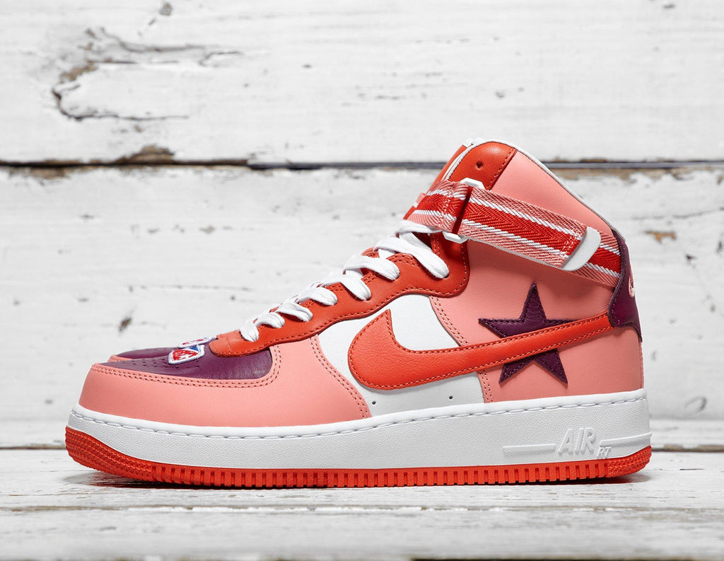 Buy Nike Mens Nike x Riccardo Tisci Air Force 1 - Red/White, Red/White Footpatrol online now at Soleheaven Curated Collections