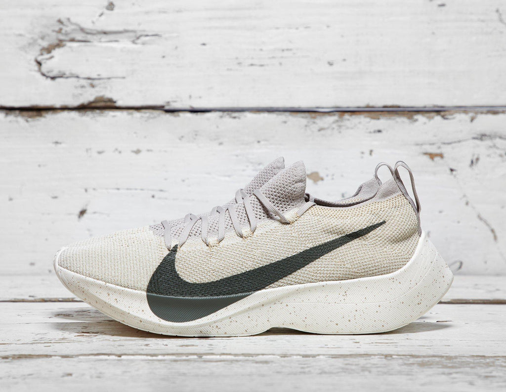 Buy Nike Mens Nike Vapor Street Flyknit - Beige/White, Beige/White Footpatrol online now at Soleheaven Curated Collections