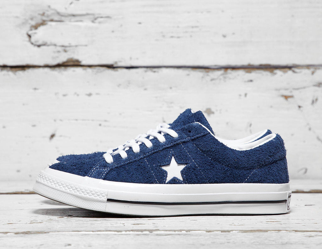 Buy Converse Mens Converse One Star Suede - Blue, Blue Footpatrol online now at Soleheaven Curated Collections