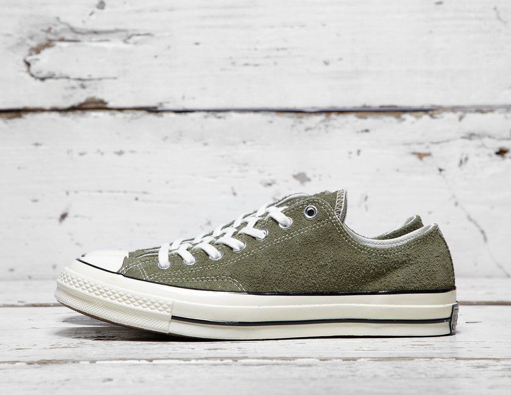 Buy Converse Mens Converse Chuck Taylor 70's Ox - Green/White, Green/White Footpatrol online now at Soleheaven Curated Collections