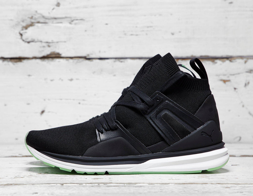 Buy Puma Mens PUMA x Solebox Blaze of Glory Limitless - Black/Green, Black/Green Footpatrol online now at Soleheaven Curated Collections