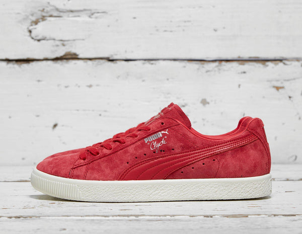 Buy Puma Mens PUMA Clyde NC - Red, Red Footpatrol online now at Soleheaven Curated Collections