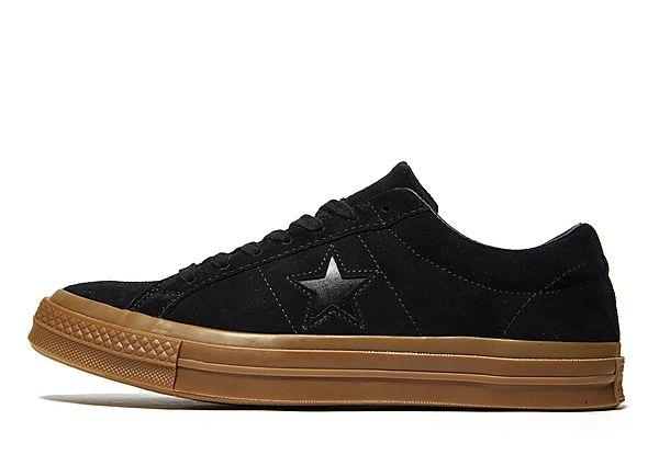 Buy Soleheaven-stencil Converse One Star Suede - Black - Mens JD Sports online now at Soleheaven Curated Collections