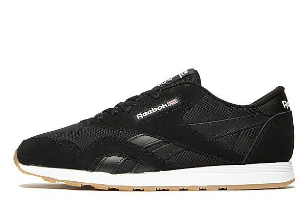 Reebok Reebok CL Nylon - Black/White - Mens SOLEHEAVEN
