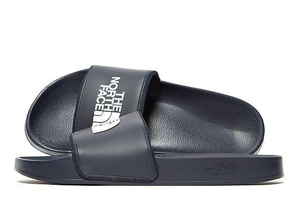 Soleheaven-stencil The North Face Slides - Navy/White - Mens SOLEHEAVEN